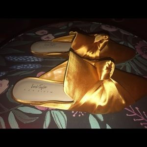 Lord & Taylor Shoes - Lord and Taylor Marigold Mules - 9